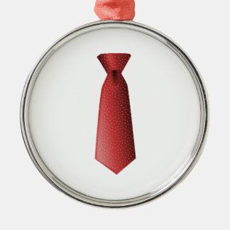Red Tie Christmas Ornament