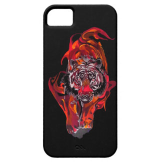 Red Tiger Case For The iPhone 5
