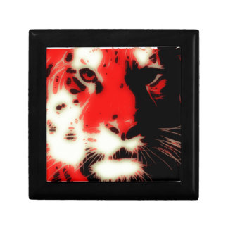 Red Tiger Face Gift Box