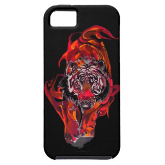 Red Tiger Tough iPhone 5 Case