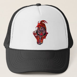 Red Tiger Trucker Hat