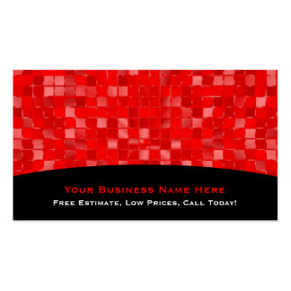 Red Tile Business Card