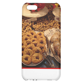 Red Tile Desserts Case For iPhone 5C