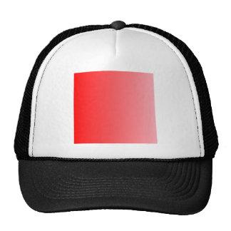 Red to Pink Vertical Gradient Trucker Hat
