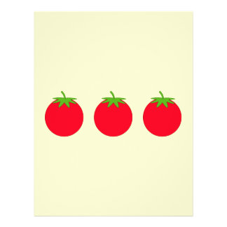 Red Tomato. 21.5 Cm X 28 Cm Flyer