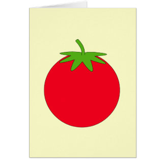 Red Tomato. Card