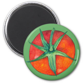 Red Tomato green Magnet