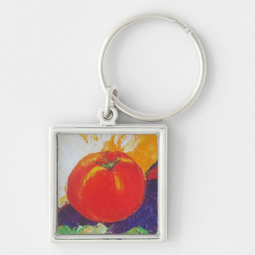 Red Tomato Key Chains