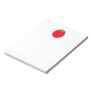 Red Tomato. Notepad