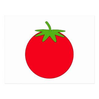 Red Tomato. Postcard
