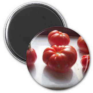 Red Tomatoes Magnet