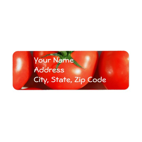Red Tomatos Address labels