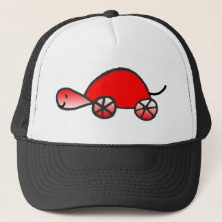Red Tortoise Trucker Hat