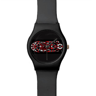 red totem wrist watches