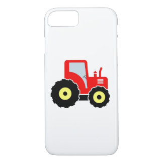 Red toy tractor iPhone 7 case