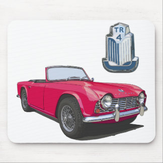 Red TR4 Mousepads