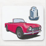Red TR4 Mousepad