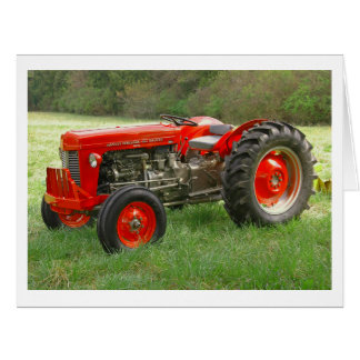 Red Tractor Big Greeting Card