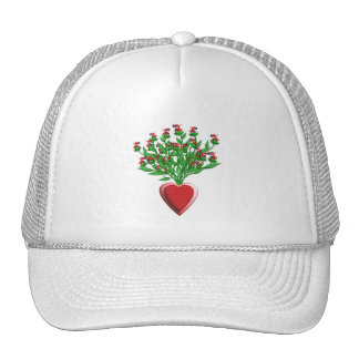 Red Tractor Bouquet Hat