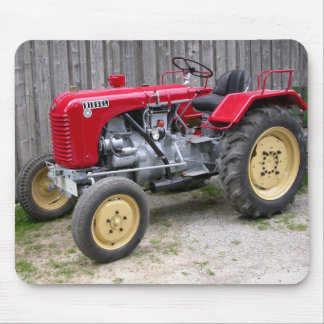 Red Tractor Mouse Mat