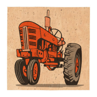 RED TRACTOR BEVERAGE COASTERS