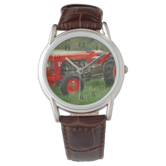 Red Tractor Wrist Watches