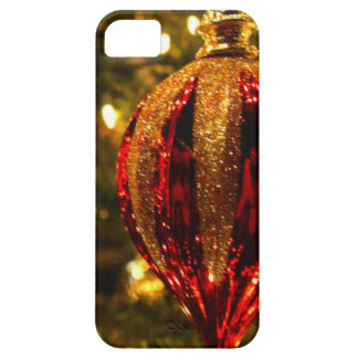 Red Tree bauble iPhone 5 Case