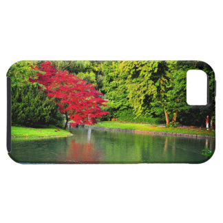 Red tree iPhone 5 case