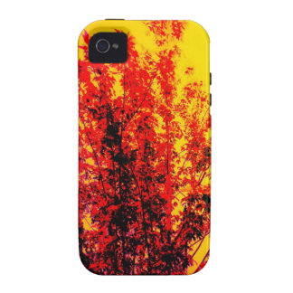 Red Tree iPhone 4/4S Cover