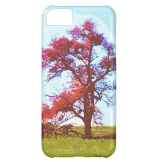 Red Tree Cover For iPhone 5C