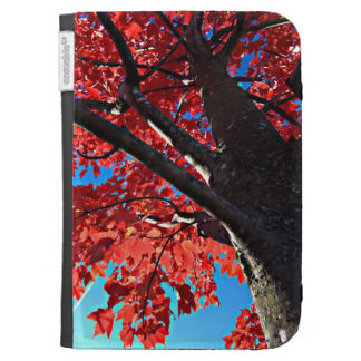 Red Tree Kindle Keyboard Case