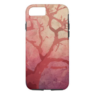 Red Tree On Fire iPhone 7 Case