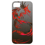 red tribal dragon phone case iPhone 5 case