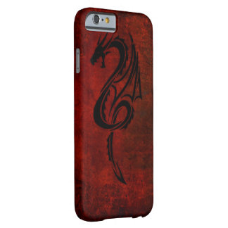 red tribal dragon tattoo art barely there iPhone 6 case