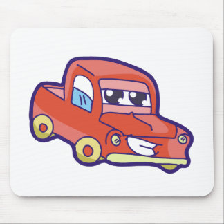 Red Truck Mouse Pad