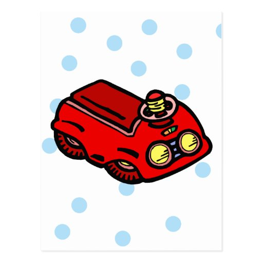 Red Truck Postcards