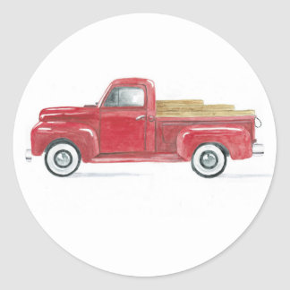 Red Truck Seal