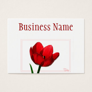 Red Tulip Business Card