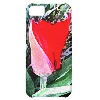 Red Tulip iPhone 5C Case