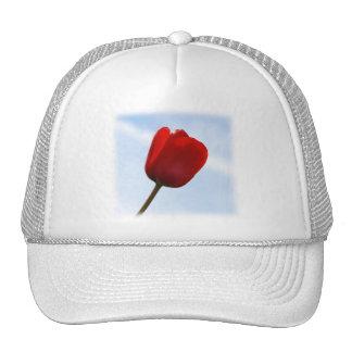 Red Tulip Hat