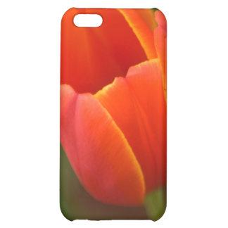 Red Tulip iPhone 5C Covers