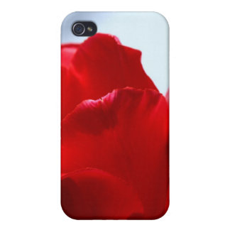 Red Tulip Cases For iPhone 4