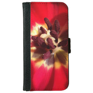 Red Tulip Phone Case/Wallet iPhone 6 Wallet Case