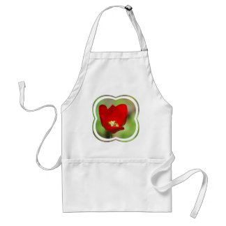 Red Tulips Apron