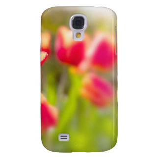 Red Tulips HTC Vivid Cases