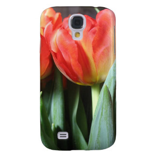 Red Tulips Samsung Galaxy S4 Cover