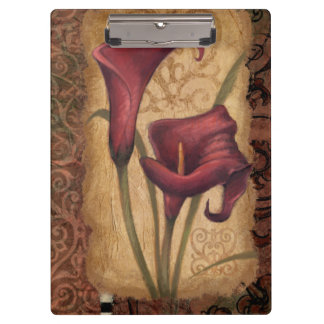 Red Tulips I Clipboard
