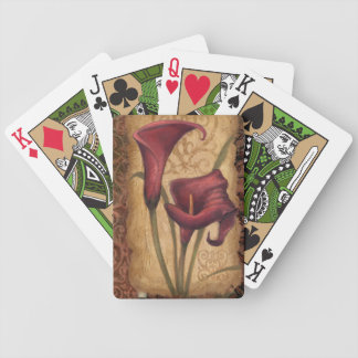 Red Tulips I Poker Deck