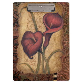 Red Tulips II Clipboard