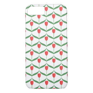 Red Tulips iPhone 7 Case